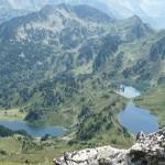 Les Lacs Bleu Noir et Rabassoles
